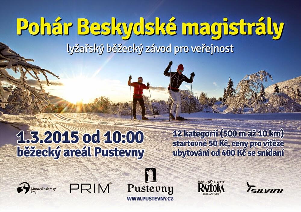 Pohár Beskydské magistrály – běžkařské závody pro veřejnost