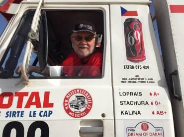 Karel Loprais opět za volantem Tatry