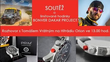 Rychlá soutěž s Bonver Dakar Projektem o hodinky PRIM Dakar