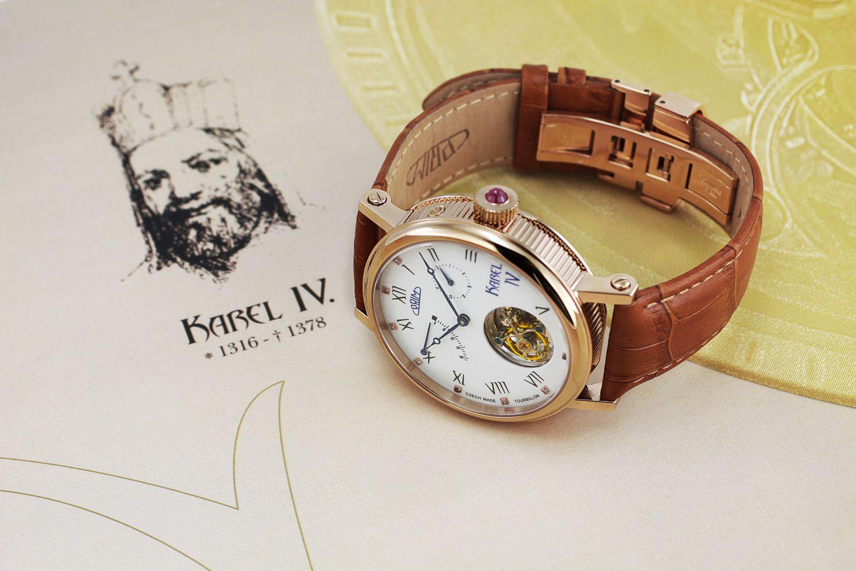 PRIM Tourbillon Karel IV. – uvedení do prodeje