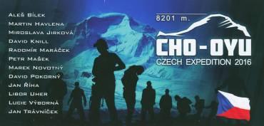 Pozdrav z expedice Cho-Oyu od Libora Uhra