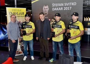 Štefan Svitko představil motocykl pro Dakar 2017