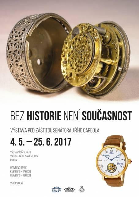 plakát - BEZ HISTORIE NENÍ SOUČASNOST