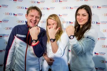Výročí první zlaté medaile připomenou i hodinky pro olympioniky